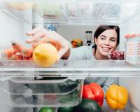 Refrigerateur ouvert