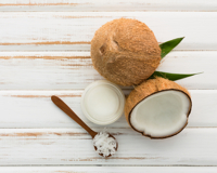 gommage noix de coco DIY