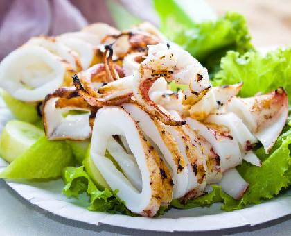 Recette calamars grill s au barbecue - Recette calamar grille barbecue ...