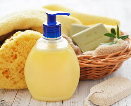 gel douche huile d'olive miel