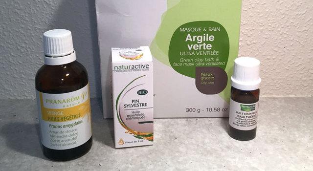 Cataplasme anti-douleurs et décontractant à l'argile et aux huiles essentielles