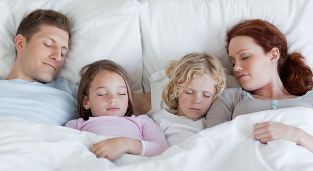 sieste famille