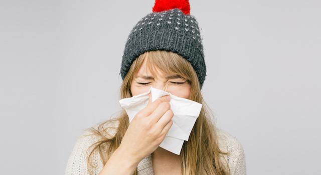 5 astuces pour éviter de s'enrhumer en hiver