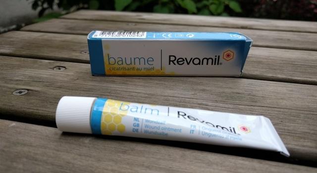 Test produit : baume cicatrisant au miel Revamil