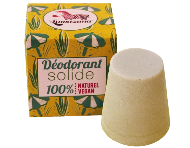 Un déodorant solide, naturel et vegan