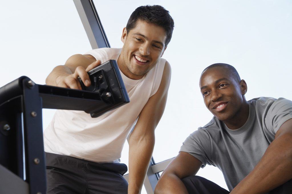 Un coach pour la pratique du fitness