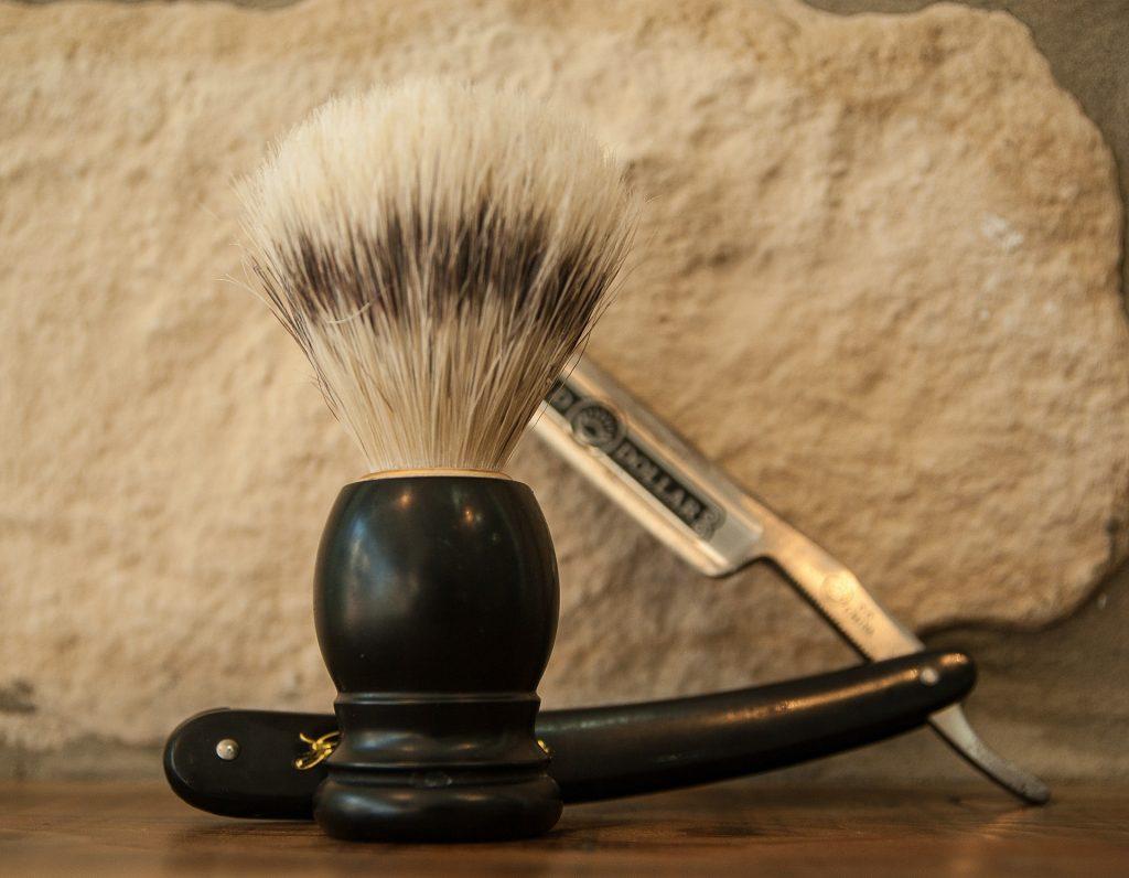 accessoires du barbier