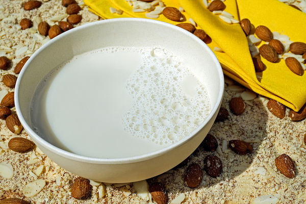 Si vous êtes intolérant au lactose, le lait d'amande est fait pour vous.