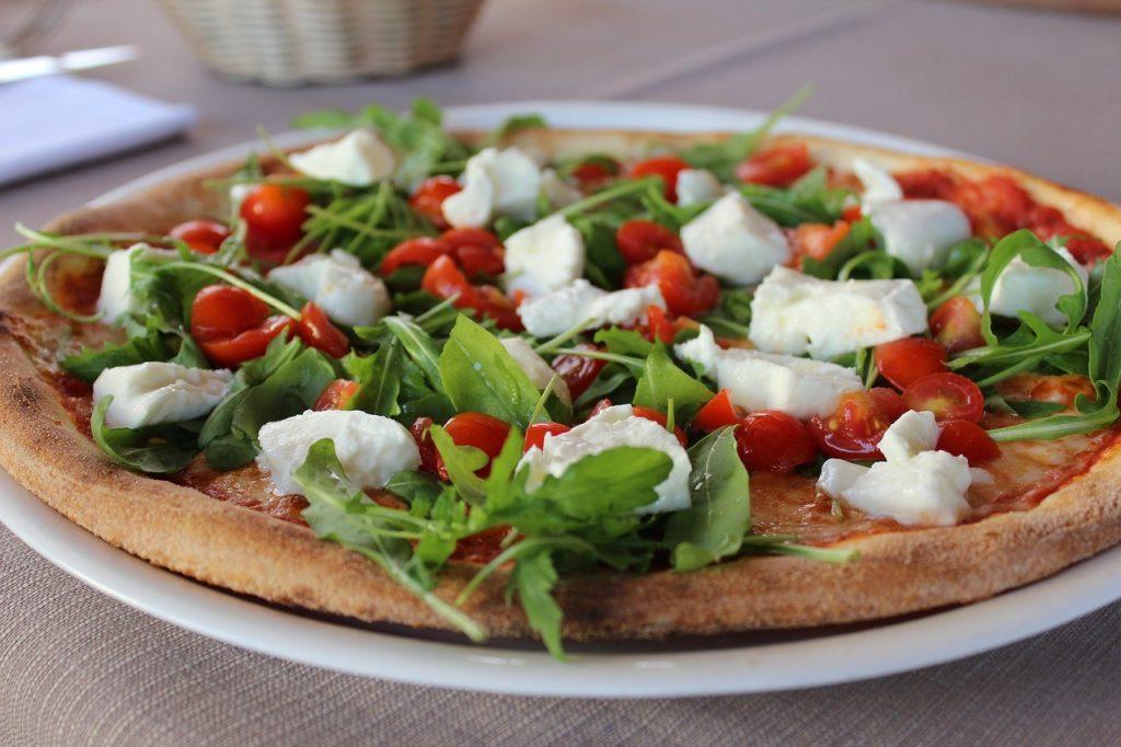 Une pizza allégée pour votre régime