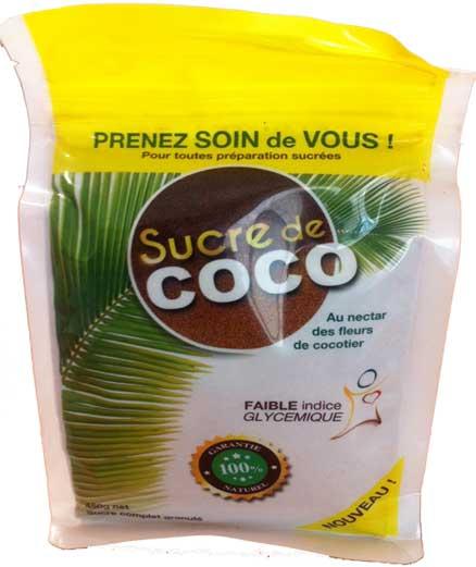 Les bienfaits du sucre de coco