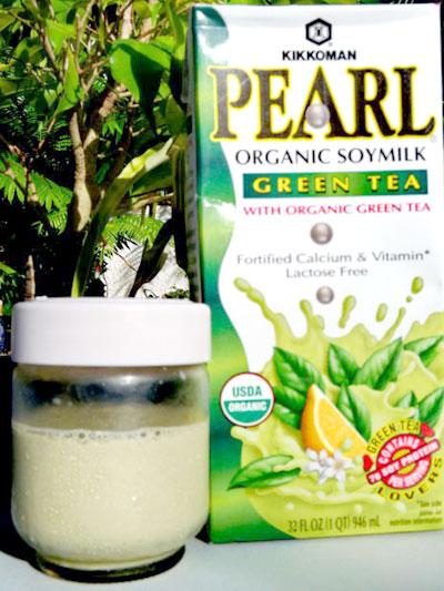 Profitez des bienfaits du lait de soja